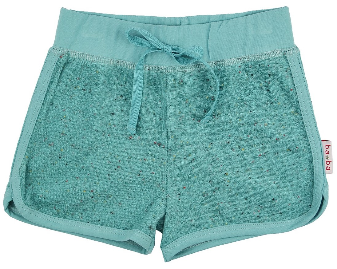 Frottee Retro-Shorts